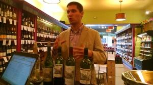 Montelena winemaker bottles